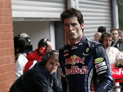 Марк Уэббер обладатель поула Гран-при Бельгии 2010