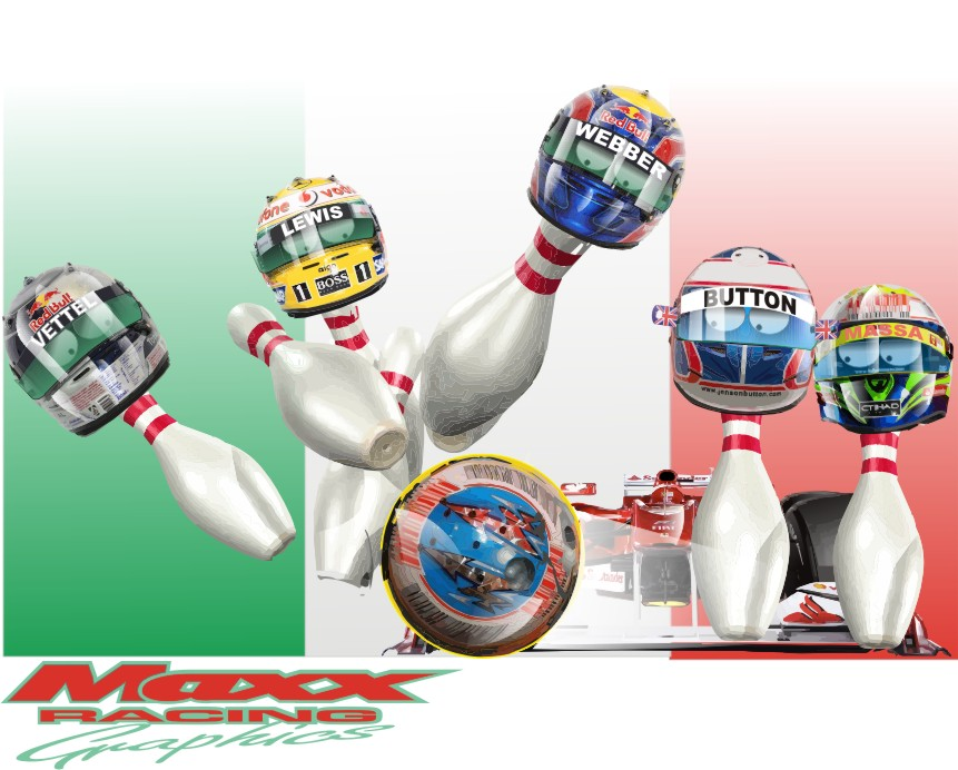 Фернандо Алонсо побеждает соперников на Гран-при Италии 2010