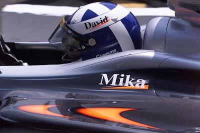 Дэвид Култхард на Гран-при Франции 2001