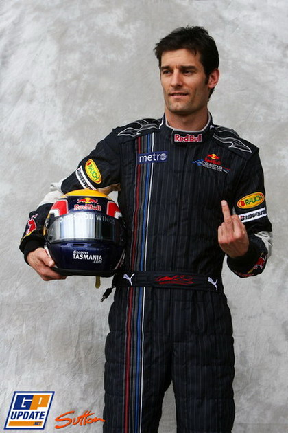 Марк Уэббер на Гран-при Австралии 2007