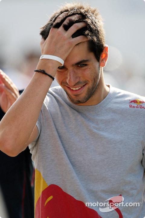 Хайме Альгерсуари на Гран-при Италии 2010