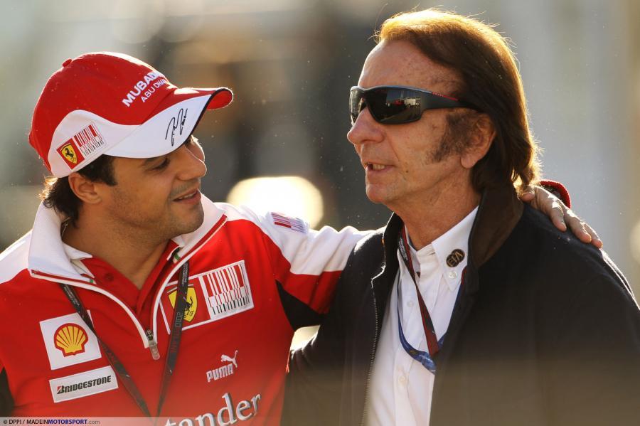 Фелипе Масса и Эмерсон Фиттипальди на Гран-при Италии 2010