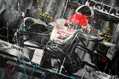 Михаэль Шумахер Mercedes GP Art Rotondo