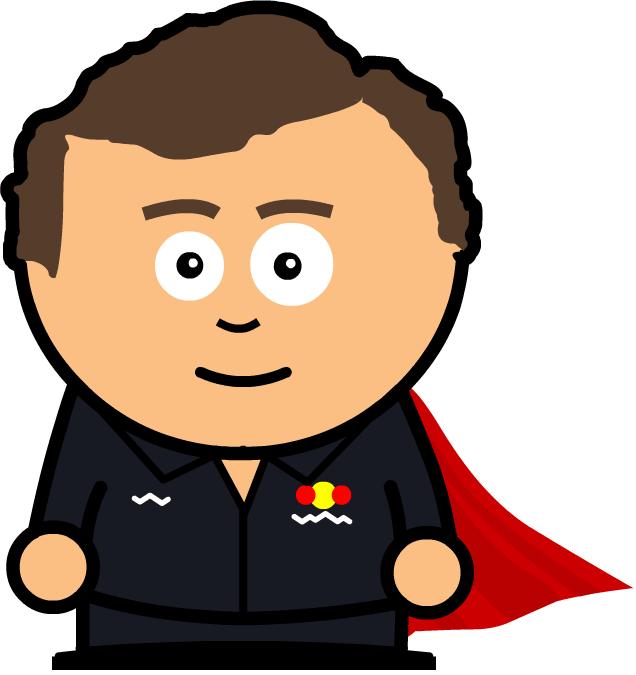 супергерой Кристиан Хорнер Unlap