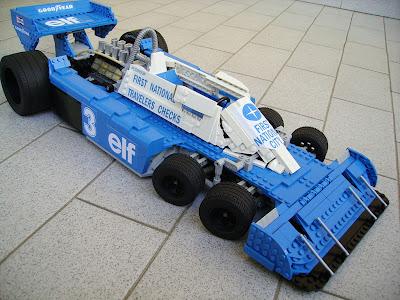 Tyrrell P34 из лего
