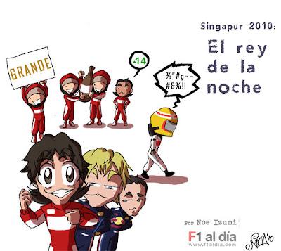 итоги Гран-при Сингапура 2010 Noe Izumi