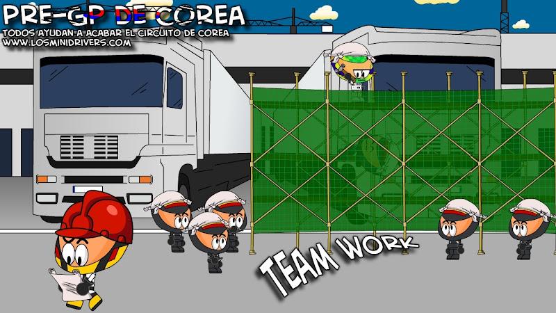 Карун Чандхок достраивает трассу в Корее