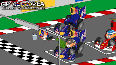 Los MiniDrivers после квалификации Гран-при Кореи 2010