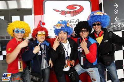 болельщики Red Bull на Гран-при Кореи 2010
