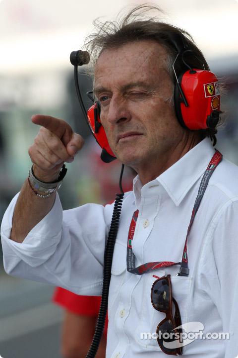 Лука ди Монтедземоло на Гран-при Абу-Даби 2010