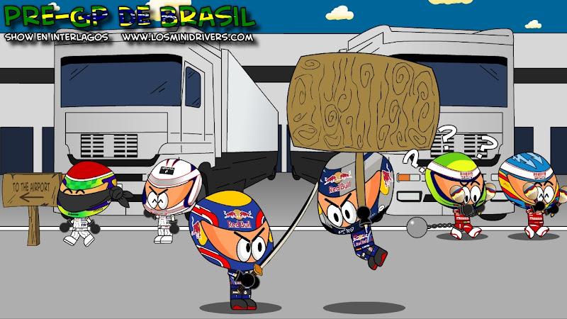 Los MiniDrivers перед главными событиями Гран-при Бразилии 2010