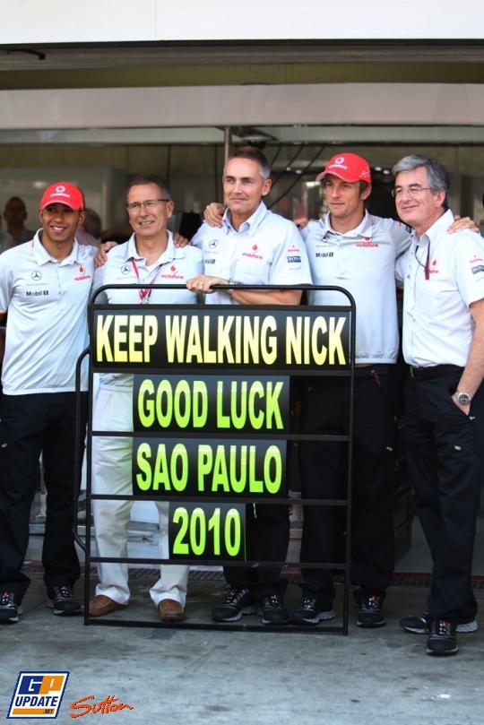 McLaren Ник Роуз Diageo