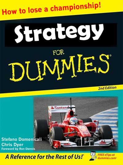 стратегия Ferrari на Гран-при Абу-Даби 2010