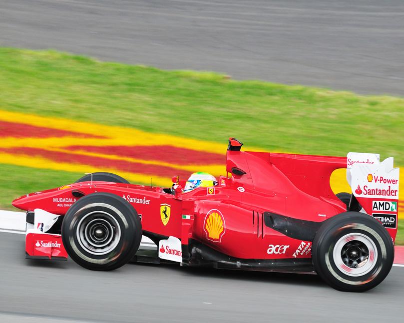 мультяшный болид Ferrari