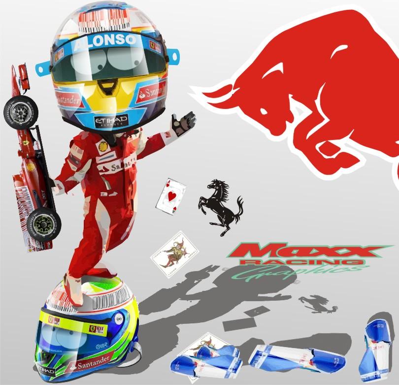 итоги сезона для Фернандо Алонсо и Фелипе Массы Ferrari