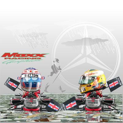 итоги сезона для Дженсона Баттона и Льюиса Хэмилтона McLaren