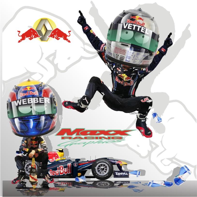 итоги сезона для Себастьяна Феттеля и Марка Уэббера Red Bull