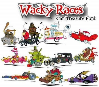 Wacky Races by Hanna-Barbera