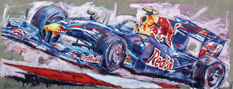 Себастьян Феттель Red Bull RB5 by Armin Flossdorf
