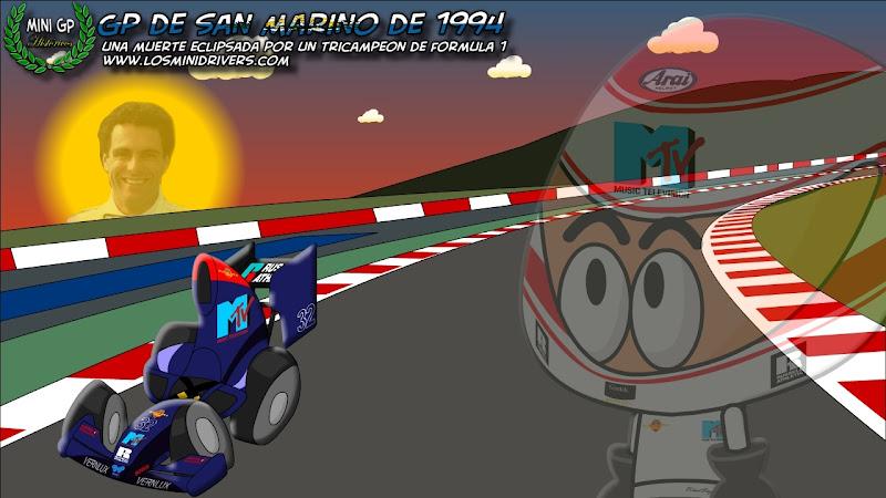 Роланд Ратценбергер Simtek Los MiniDrivers Гран-при Сан-Марино 1994