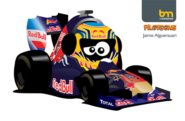Хайме Альгерсуари Toro Rosso 2011 pilotoons
