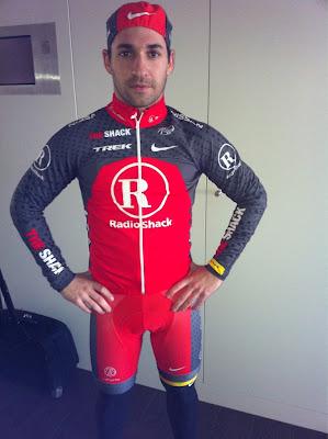 Тимо Глок в велокостюме
