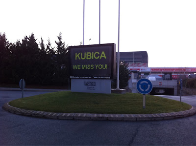 Kubica we miss you
