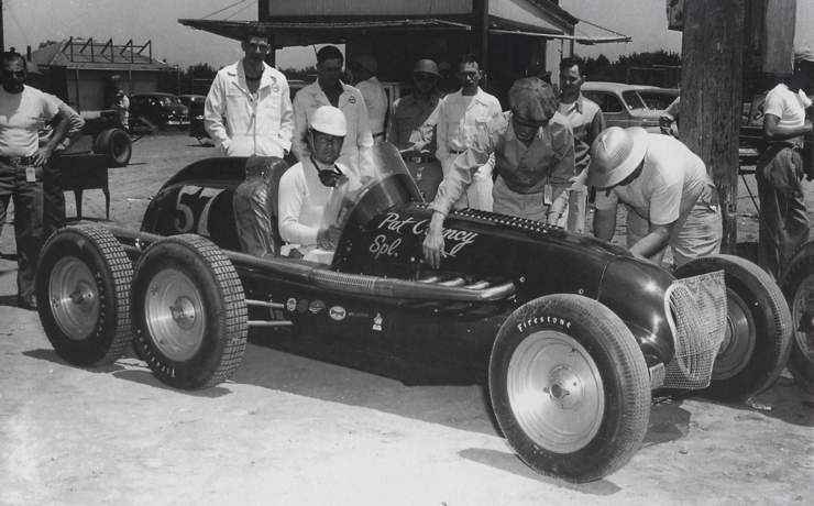 Pat Clancy Special Indy 500 1948 driven by Jack Turner