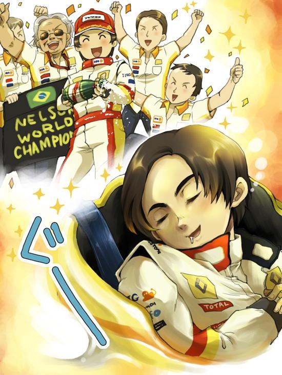 Нельсиньо Пике мечтает о чемпионском титуле за Renault