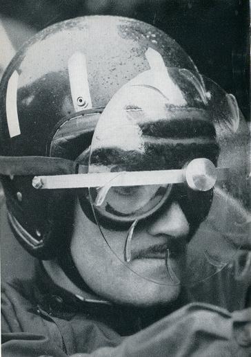 шлем Грэма Хилла с дополнительной защитой