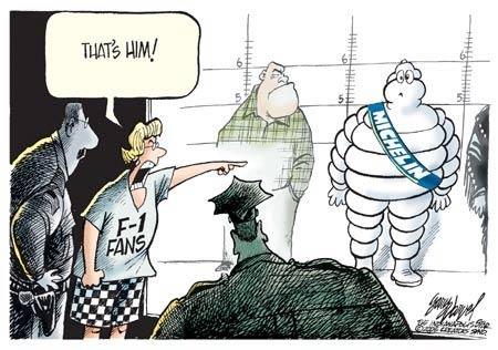Michelin болельщики комиксы