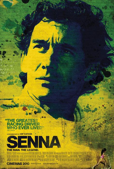 постер к фильму про Айртона Сенну