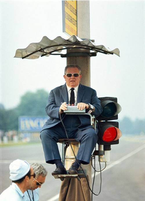 директор гонки на Гран-при Италии 1968 в Монце
