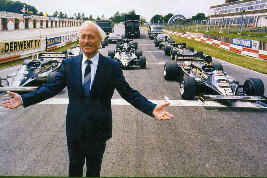 Колин Чепмен и его болиды Lotus Формулы-1
