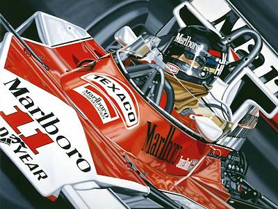 арт Джеймс Хант McLaren M26