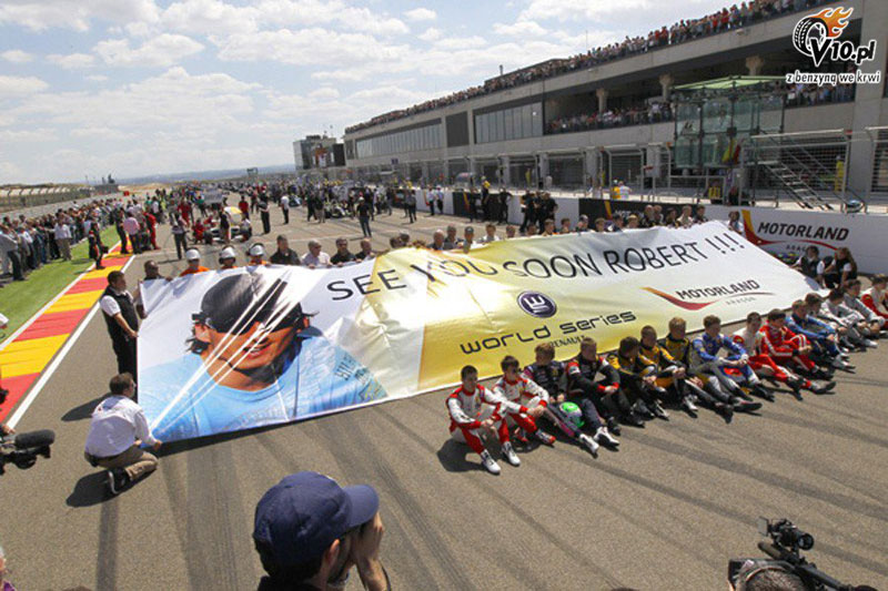 The World Series by Renault sends its support to Robert Kubica See you soon Robert