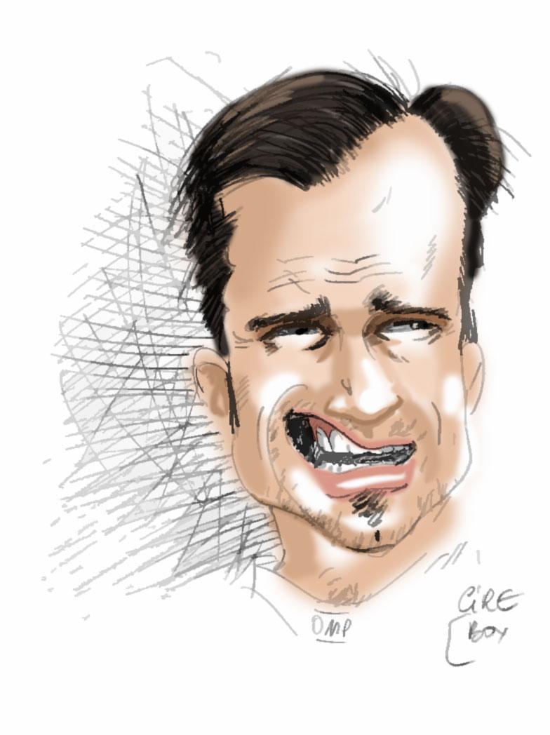карикатура Витантонио Льюцци в сезоне 2011 от Cirebox