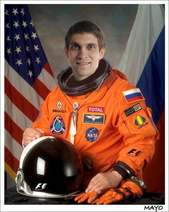 космонавт Виталий Петров