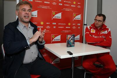 Евгений Касперский и Стефано Доменикали в дни уикэнда на Гран-при Австралии 2011