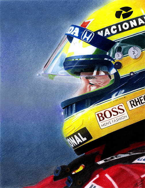 artwork The Focus of Ayrton by Lyle462