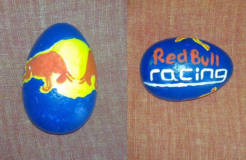 Easter Eggs F1 2011 Red Bull