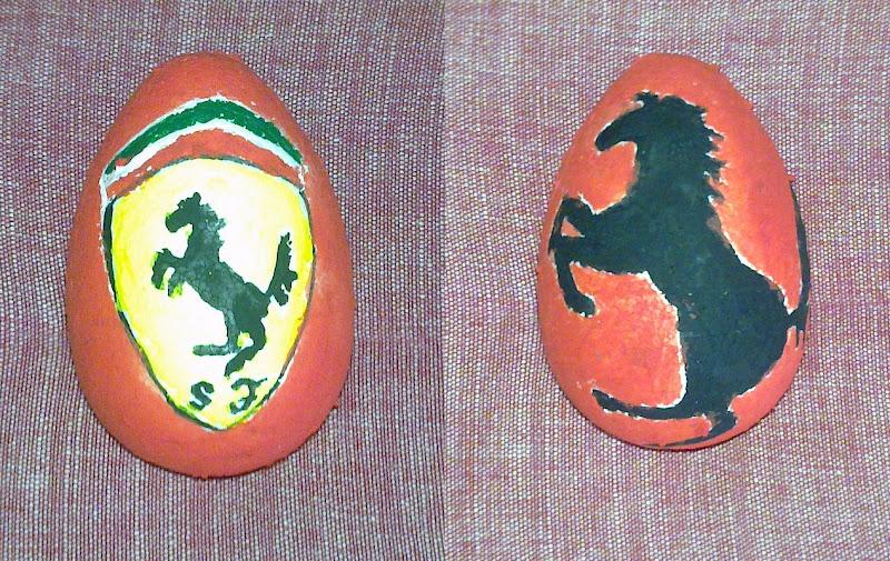 Easter Eggs F1 2011 Ferrari
