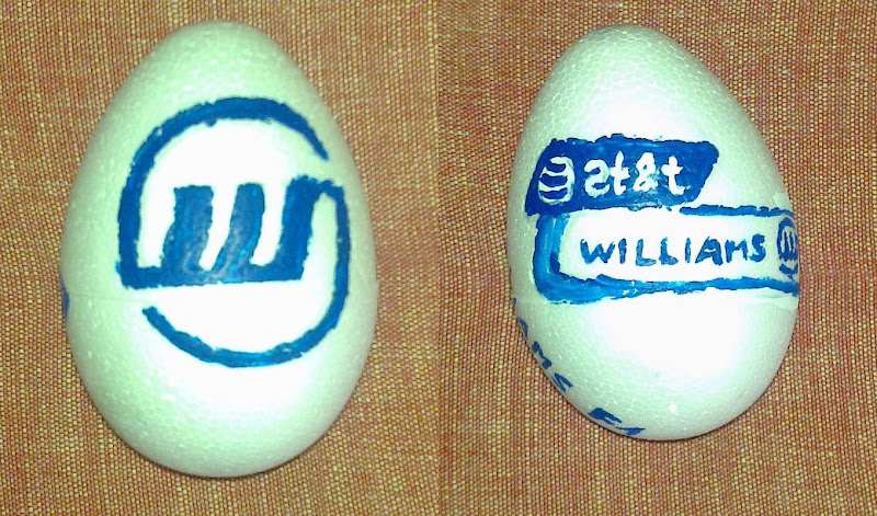 Easter Eggs F1 2011 Williams