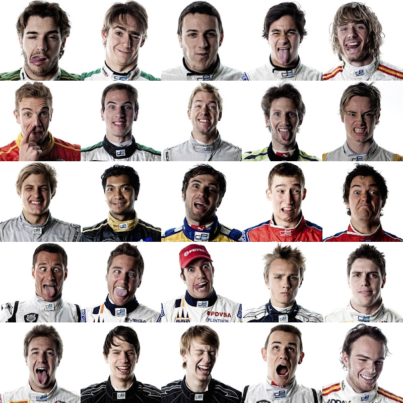 пилоты GP2 сезона 2011 на одном фото 2011 GP2 Series entry list