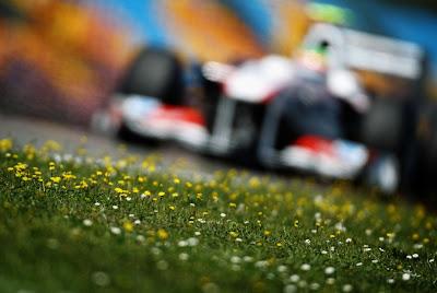Серхио Перес Sauber на трассе Истамбул-Парка Гран-при Турции 2011