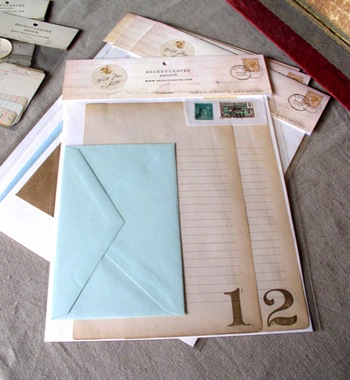Write Me a Letter single letter kit