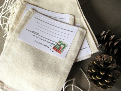 Christmas stamp gift bag 72