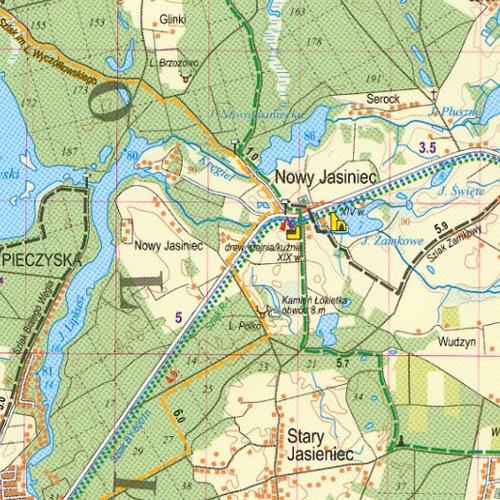 express map i demart okolice bydgoszcz i torunia