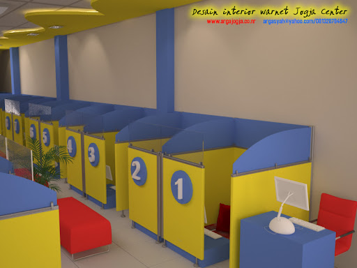  Desain Interior Warnet Jogja Center 