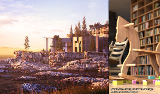 Tutorial Vray Membuat Rumah GH House Oleh Bertrand Benoit
